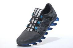 Tênis Adias Springblade Pro - Masculino - Cinza/Azul - Tênis Web - Cuidando bem do seus pés
