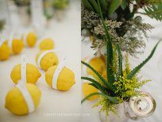 Zesty lemon decor