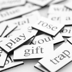 Magnetic Poetry Lesson Plan - Art and Language Arts - KinderArt