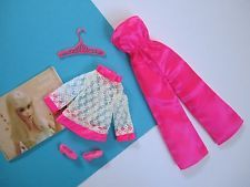 Barbie FRANCIE Vintage Complete Outfit SATIN HAPPENIN' #1237 Free Shipping USA