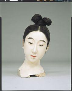 Raw doll _ Tenpyo era aristocrat women dressed up body Tokyo National Museum Image ID:C0098403 Shooting site:Front Column article number:I-1026 Author:Yasumoto Kamehachi Age:1907 (1907) shape:High 31.0