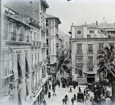 Portal de Elche y calle Mayor. 1931