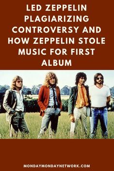At first, the Led Zeppelin plagiarizing controversy may seem silly like those whack jobs broadcasting Elvis is still alive. Rock And Roll Artists, Monday Monday, 80s Rock, Rock N Roll Music, Live Rock, Types Of Music, Led Zeppelin, Guitar, Author