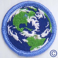 Earthy Demerit Badge - $3.95