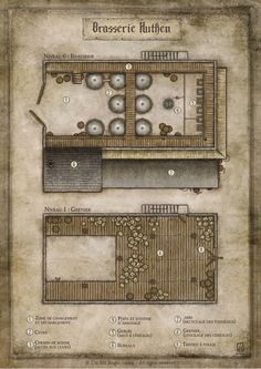 Hutken's Brewery - commission for the french RPG Wastburg. © Les XII Singes - 2014 - All rigts reserved