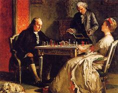 Chess games of the rich and famous:  Ben Franklin and Lady Howe