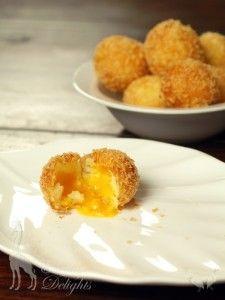 Cheesy Potato Fritters