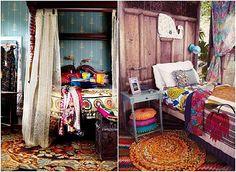 Bohemian Shabby Chic Home Decoration Ideas   Jazzyliving.