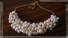 Κολιέ με πέρλες - Necklace with pearls