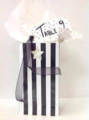 A Wedding DIY Trendy Table center piece using black and white paper eskimo for the bride on a budget Wedding Wands, Wedding Favours, Diy Wedding, Organza Ribbon, White Paper, Center Pieces, Here Comes The Bride, Large White, Creative Crafts