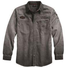 Harley-Davidson Men's Iron Block Long Sleeve Shirt