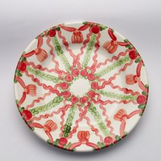 pamina Decorative Plates, Tableware, Design, Home Decor, Red, Green, Tablewares, Dinnerware, Decoration Home