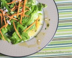 Spring Onion and Thyme Vinaigrette