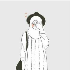 Anime hijab girl Anime muslimah #hijab #hijabart Muslim illustration Kapalı kız çizimleri #digitalart Hijab Anime, We Heart It Wallpaper, Hijab Drawing, Drawing Tips, Islamic Cartoon, Hijab Cartoon, Islamic Girl, Girly Drawings, Cute Cartoon Wallpapers