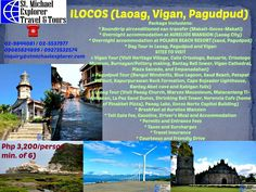 EXPERIENCE THE ULTIMATE ILOCANDIA ADVENTURE  Php 3,200/person for a minimum of 6 persons