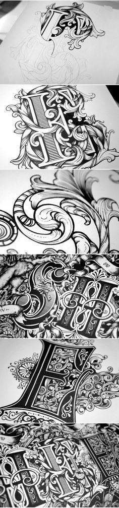Sheen by Greg Coulton #Typography www.behance.net/...