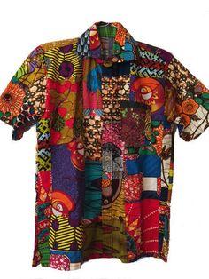 African Patch Shirt