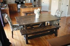 I purchased my first dining room table and chairs while I was in college, 12 years ago. The set has moved several times and has held up ver...