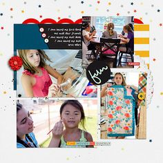 Weekly Life Templates 8 by Scrapping with Liz Memory Pockets Monthly August '16 Discover & Add-Ons Available at TLP