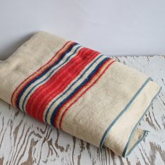 vintage blanket.  etsy.
