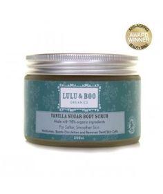 LULU&BOO Gommage exquis bio au sucre vanillé