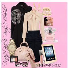 """PrettyN'Pink & Ready For Church"" by enjoyzworld on Polyvore"