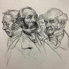 Dickensian Dudes - Karl Kopinsky