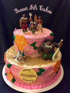 Moana Birthday Cake - Sweet Fifi Cakes