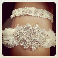 Garter set by Raenewed Pieces