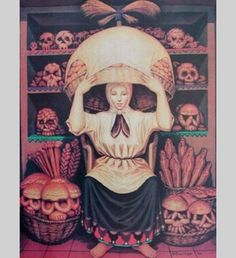 Scary Lady Illusion - This image reminds one of witches, dark magic and supernatural powers of the nature.