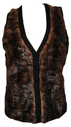 Ellen Tracy Women's Faux Fur Front Vest Espresso Size Small  Great looking, animal friendly vest to keep you stylish and warm.Beautiful espresso brown sweater vest with faux fur front panelsFive button closure with slightly padded armholes for comfort Related Post 						     							   							   									   										 										 									   									   								   Apollo by Astronaut (Dodge & Fuski Remix)