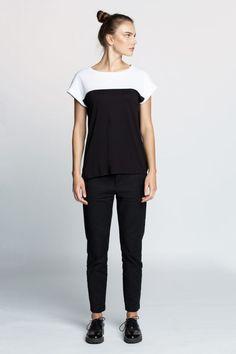 T-Shirt-BlackWhite #wiederbelebt