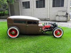 ford tudor hot rat rod 1929