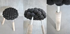 Hanna Bramford's 'Black Sheep Stool' And A Look At How It Was Made