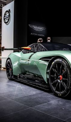 Visit The MACHINE Shop Café... The Best of Aston Martin... (Aston Martin Vulcan Concept)