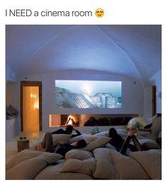 I need a cinema room