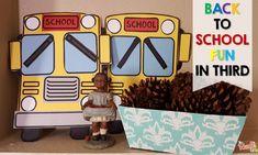 Back to School Fun in Third - Mrs. Teacher Sites, Back To School Essentials, School Fun, Hello Everyone, Third Grade, Classroom, Young Men, Schools, Type