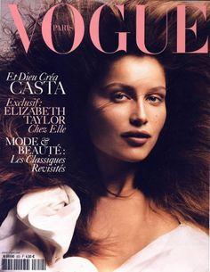 La primera portada de... Laetitia Casta http://www.mariodelarenta.com/2013/06/la-primera-portada-de-laetitia-casta.html