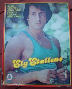 Sly Stallone Puzzle by neededthings on Etsy