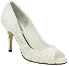 Pacific Lace Wedding Shoes by Belle