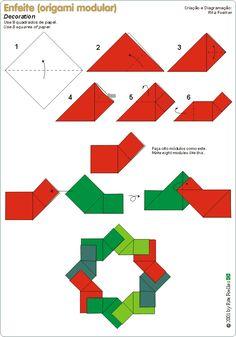 Guirlanda de Natal IV  Essa guirlanda também não é difícil de fazer. Essa da imagem acima foi feita em tecido (Orinuno) pela Carla Pedreira ...