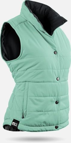 Winter is coming and we need this Ice Green/Steel Sun Mountain Alpine Reversible Golf Vest at #lorisgolfshoppe