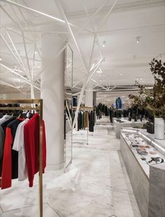Alex Cochrane Architects' Selfridges concept | Best Retail Display, Floor and Visual Merchandising Concept, Prototype, Ideas and Inspiration | rePinned by www.arkansasconstruction.co