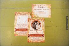 vintage wedding invite | VIA #WEDDINGPINS.NET