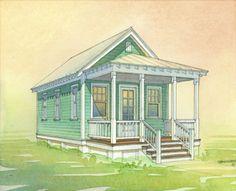 Kvale Hytte Cottage at Conover Commons Pocket Community 001