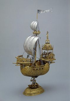 Esaias zur Linden, Ship, made in the first third of the 17th century
