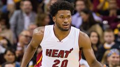 CLEVELAND, OH - OCTOBER 30: Justise Winslow #20 of the Miami Heat drives down court during the first half against the Cleveland Cavaliers at Quicken Loans Arena on October 30, 2015 in Cleveland, Ohio. NOTE TO USER: User expressly acknowledges and agrees that, by downloading and or using this photograph, User is consenting to the terms and conditions of the Getty Images License Agreement. (Photo by Jason Miller/Getty Images)  *** Local Caption *** Justise Winslow