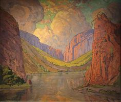 Pierneef: A Space for Landscape brings together a wealth of paintings and prints from numerous collections, to create the first major. Contemporary Landscape, Abstract Landscape, Landscape Paintings, Landscapes, Oil Paintings, Landscaping Near Me, African Sculptures, South African Artists, Africa Art