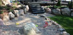 Fengshui puutarha on myös lasten piha