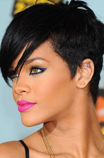 rihanna pixie cut red - Google Search
